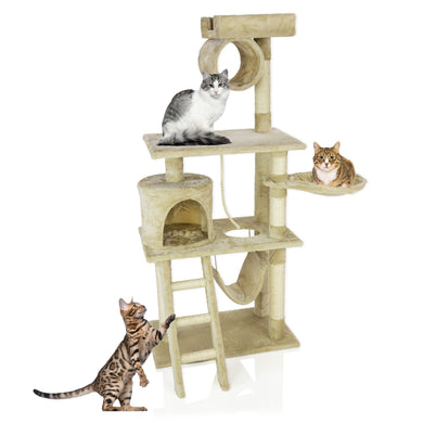 COZY PET Deluxe Multi Level Cat Tree Scratcher Activity Centre