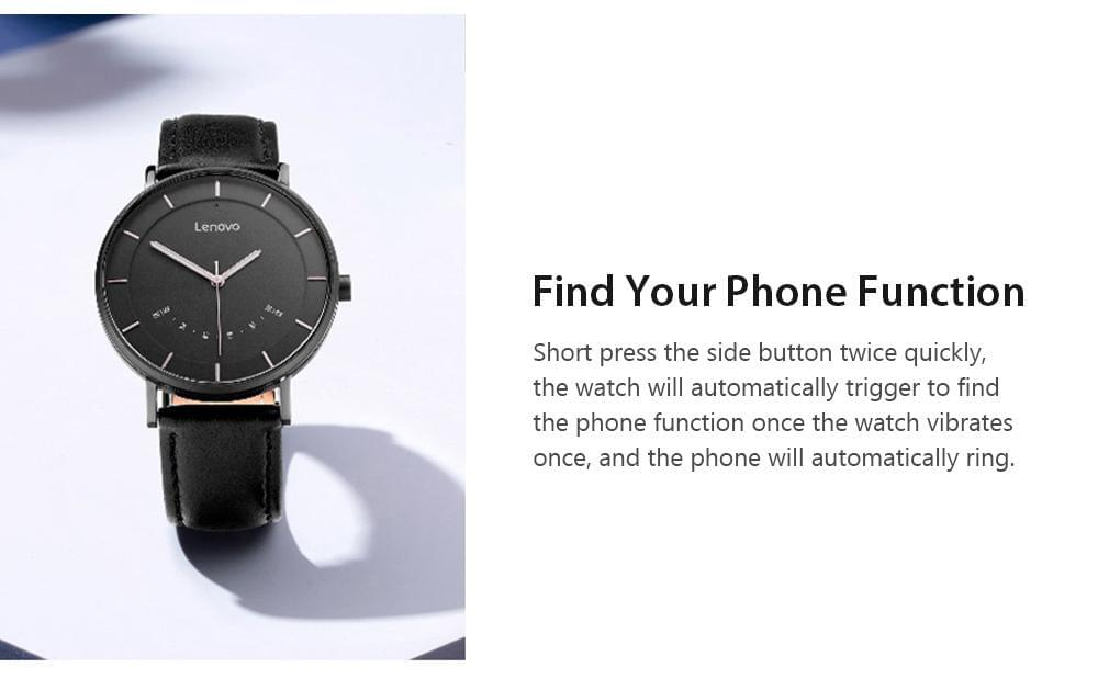 Lenovo Watch S Smartwatch - TheUwatch