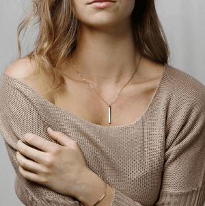 The Initial Letter Necklace - TheUwatch