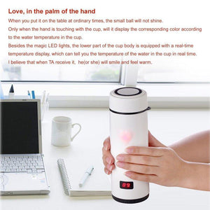 Touch Sensing LED Stainless Steel Mug - TheUwatch