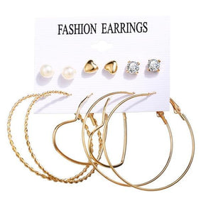 Minimalist Mixed Small Earrings Set - TheUwatch