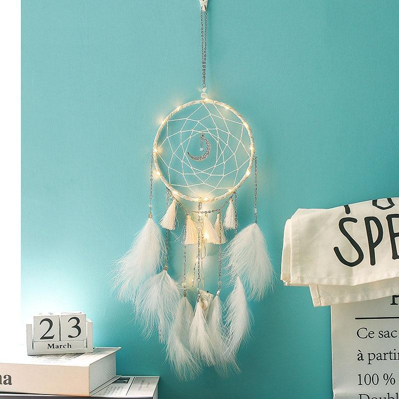 MEMOSTO Moon dream net wind bell - TheUwatch