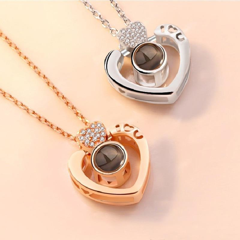 I love you - 100 languages Pendant - TheUwatch
