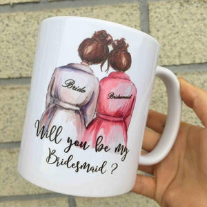 Personalised Ceramic Cup Set - TheUwatch