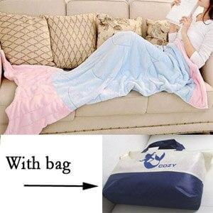 Mermaid Tail Throw Blanket - TheUwatch