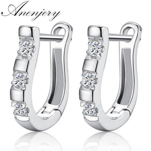 Anenjery pendientes 925 Sterling Silver Earrings - TheUwatch