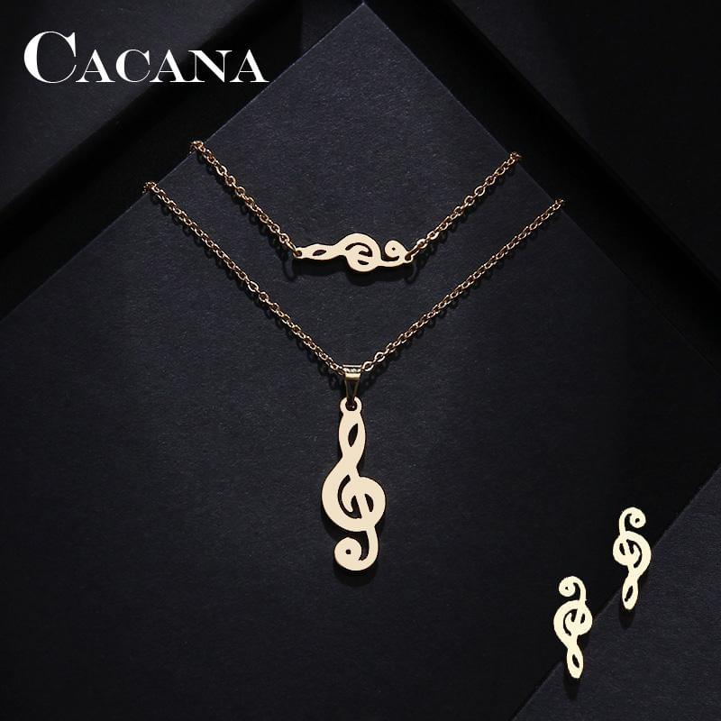 CACANA Music Necklace Set - TheUwatch