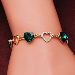 Guvivi Heart Bracelet - TheUwatch