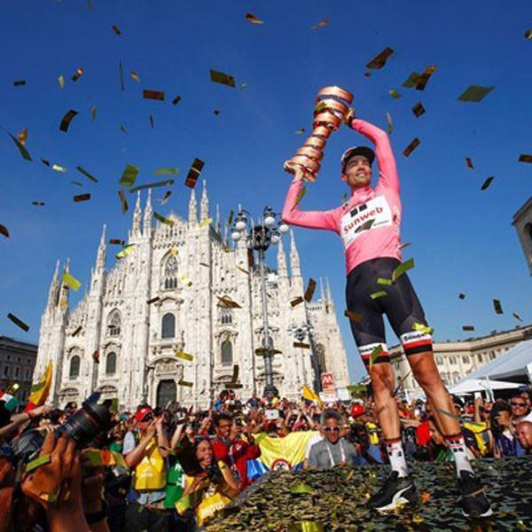 Thrilling Giro d'Italia Race Win
