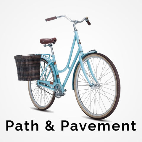 Shop path & pavement bikes