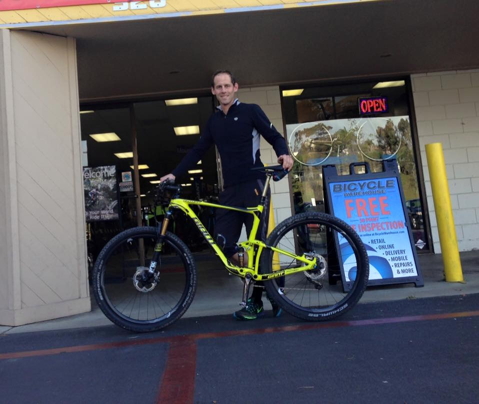 Eric and his new Giant Anthem Advance 27.5