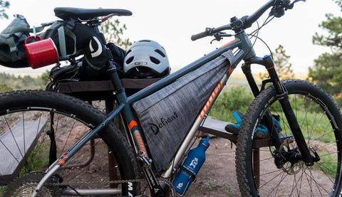 NINER BIKE LOADED UP FOR BIKEPACKING