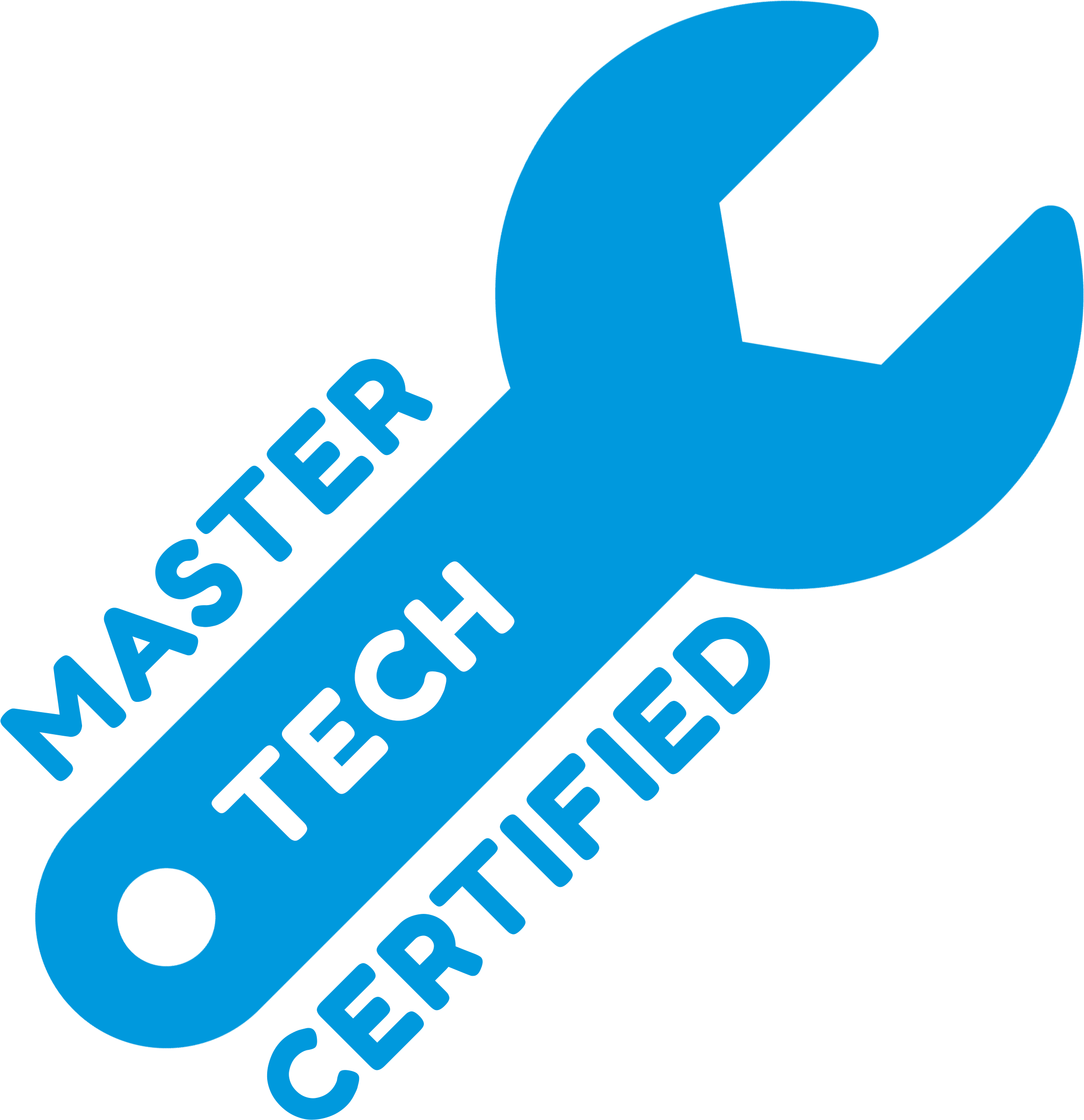 Master Techs, over 80 years of combined experience