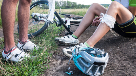 INJURED CYCLISTS