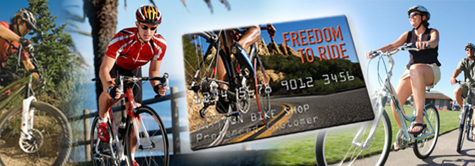 Free financing from Bicycle Warehouse