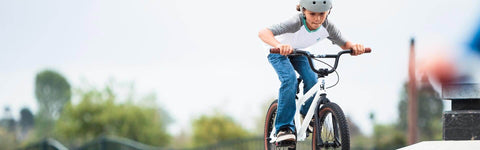 KID ON BMX BIKE