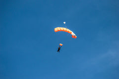 Skydivers in Oceanside