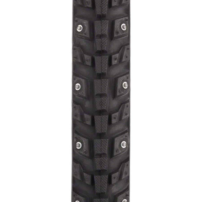 Xerxes 700 x 30 Studded Commuter Bike Tire, 140 Steel Carbide Studs, 33tpi, Wire Bead