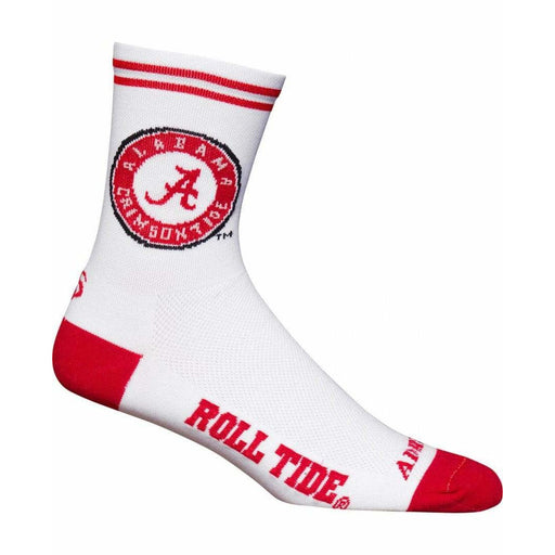 College Apparel Alabama Cycling Socks
