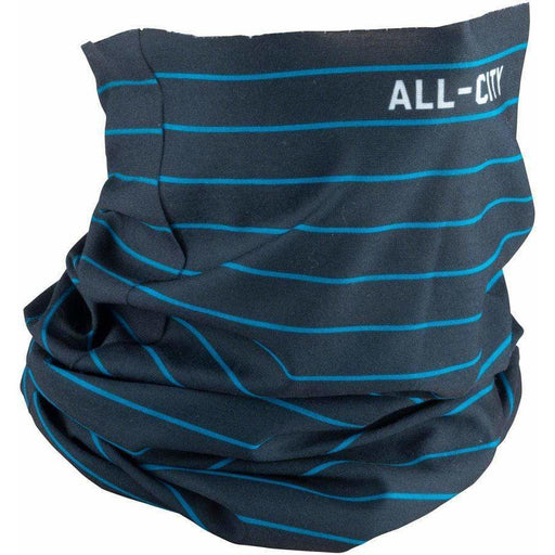 ALL-City Midnight and Cobalt Neck Gaiter - Black, Teal