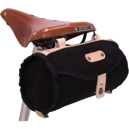 Minnehaha Canvas Barrel Saddle Bag