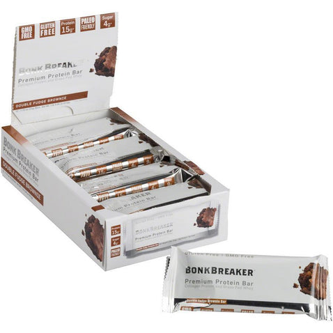 Bonk Breaker Premium Protein Bar Box of 12