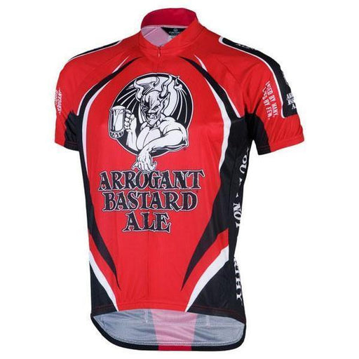 Men's Arrogant Bastard Ale Classic Road Bike Jersey Plus