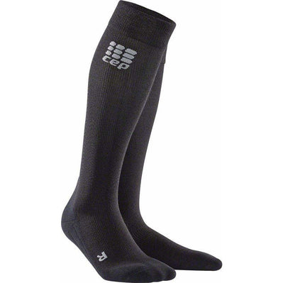 CEP CEP Recovery+ Merino Compression Socks - 10 inch, Black, Women's