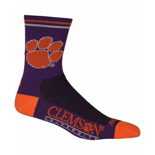 College Apparel Clemson Cycling Socks