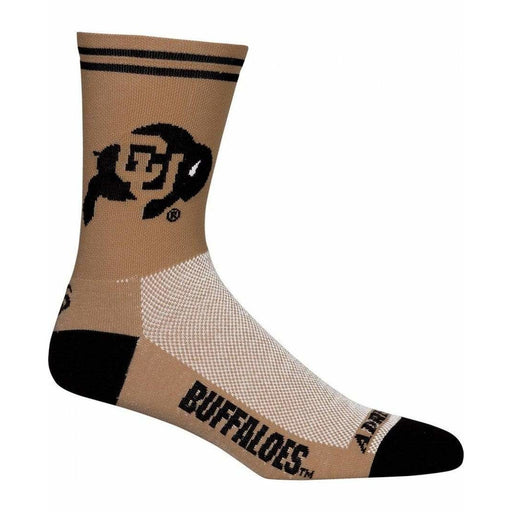 College Apparel Colorado Buffaloes Cycling Socks