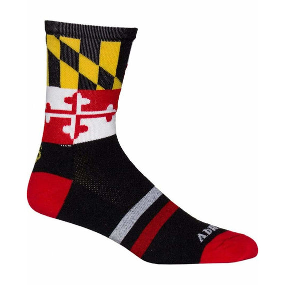 College Apparel Maryland Cycling Socks