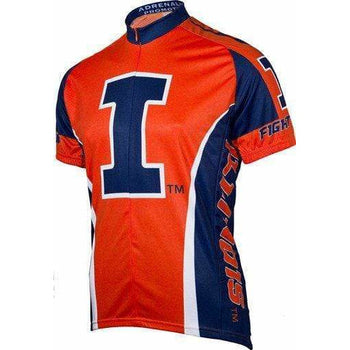 Men's Fighting Illini Road Jersey