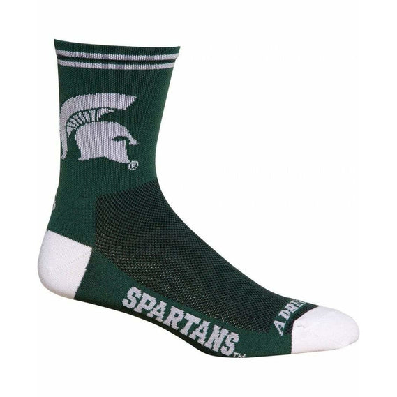 Michigan State Spartans Cycling Socks