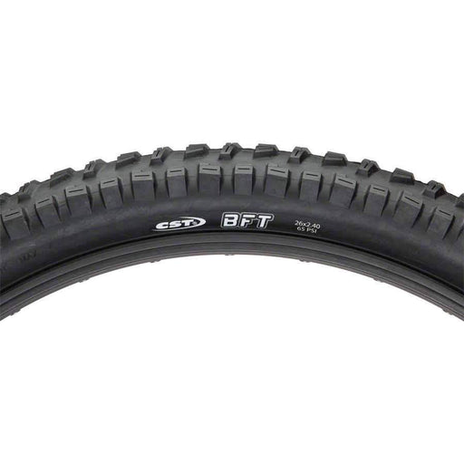 BFT Mountain Bike Tire: 26x2.40 Steel Bead