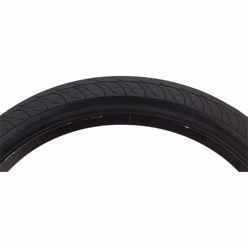 Decade BMX Bike Tire: 20x2.00 Steel Bead Black