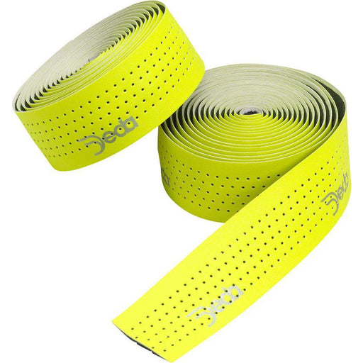 Deda Elementi Fluo Ribbon Bike Handlebar Tape - Fluo Yellow