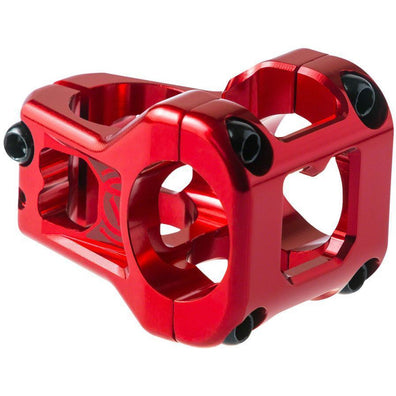 Deity Components Deity Cavity Stem: 35mm, 31.8 Clamp, Red