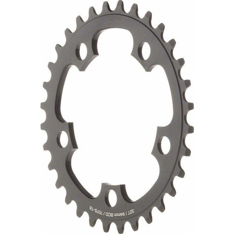 Dimension  34t x 94mm Middle Chainring Black