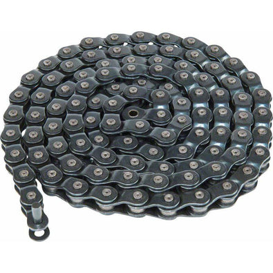 "Eclat 4-Stroke Chain - Single Speed 1/2"" x 1/8"", Half Link Chain, Black"