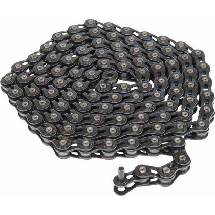 "Eclat Stroke Chain - Single Speed 1/2"" x 1/8"", Half Link Chain, Black"