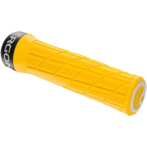 Ergon GE1 Evo Slim Bike Handlebar Grips - Yellow Mellow, Lock-On