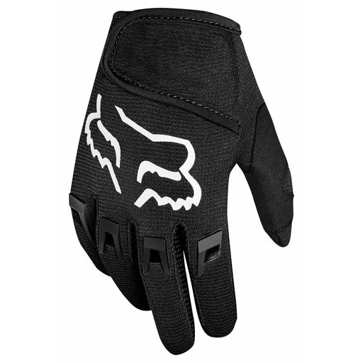 Fox Kids Dirtpaw Bike Gloves - Black
