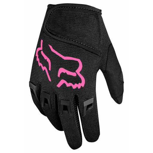 Fox Kids Dirtpaw Bike Gloves - Black/Pink