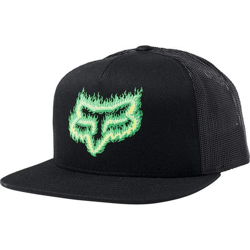 Men's Flame Head Snapback Bike Hat