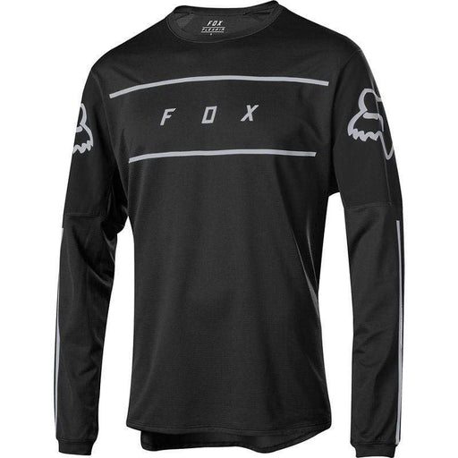 Fox Men's Flexair Fine Line Long Sleeve Mountain Bike Jersey - Black