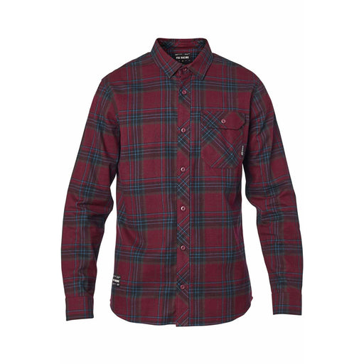 Fox Men's Gamut Stretch Flannel - Red