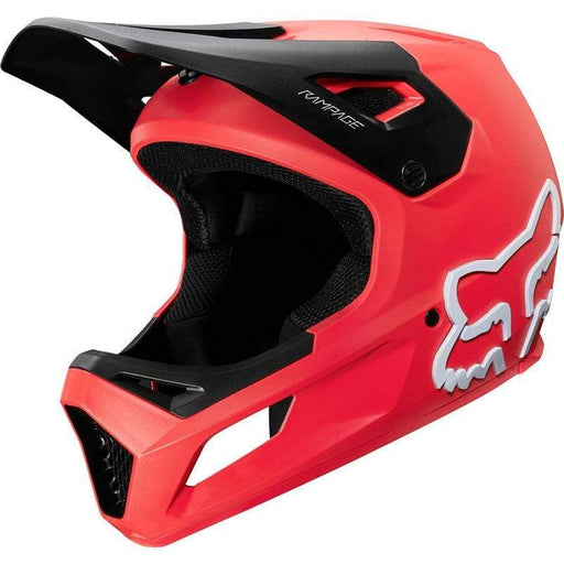 Rampage Full Face MTB Helmet - Red