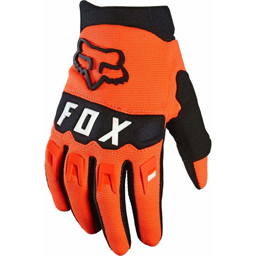 Fox Youth Dirtpaw Bike Gloves - Orange