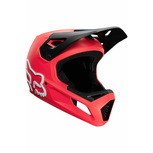 Fox Youth Rampage Full Face Mountain Bike Helmet - Red