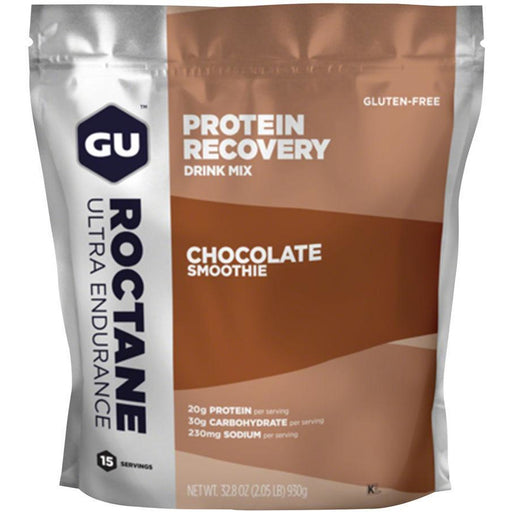 GU Roctane Recovery Drink Mix: Chocolate Smoothie, 15 Serving Packet